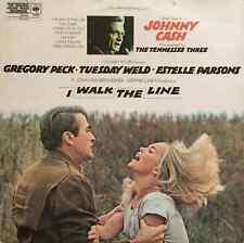 JOHNNY CASH - I Walk The Line: Original Soundtrack (LP) (EX+/VG-)
