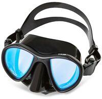 Adventure At Nature Yam Black UV Glass Dive Mask Scuba Diving & Spearfishing