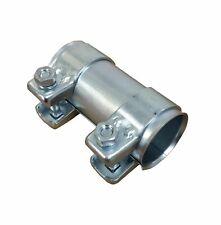 Auspuff Rohrverbinder ID 63,5mm verzinkt Rohr Verbinder 2x Auspuffschelle 68,5