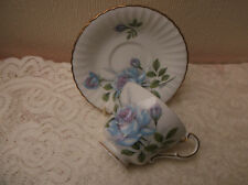 "Paragon ""Blue Moon"" small cup and saucer - Porcelain/china - England"
