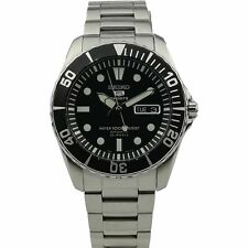 Seiko 5 Sports Automatic Submariner Styled Sea Urchin Mens Watch SNZF17K1 USED