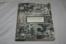 The Knife Makers Who Went West by Harvey Platts 1978 Hardcover First Edition