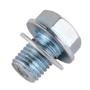For Honda ATC ATV Dirt Bike Oil Pan Drain Plug Bolt Washer Replaces 94109-12000
