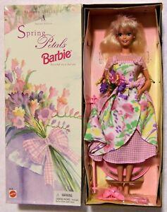 Mattel 1996 Barbie SPRING PEDAL Avon Exclusive BARBIE Special Edition Unopened