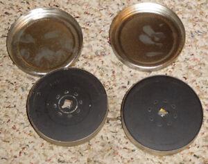 "16mm (100""), Empty Fill Spools With Cans ~ Beaulieu, Bolex, Scoopic, Filmo"