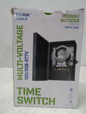 Tork 24 Hour Outdoor Time Switch 40A 120/208-277V 1109A-O