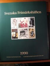 Sweden 1990  Year Stamp Set  Folder with Booklets  MNH  L96