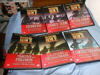 14 DVD SET - NEW - The Watch WORD BIBLE New Testament  Video PLEASE READ