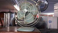 General Electric Vintage Teal Personal Desk Fan