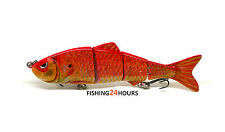 "4"" Bass Fishing Bait Swimbait Lure Life-like Goldfish"
