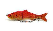"""4"""" Bass Fishing Bait Swimbait Lure Life-like Goldfish"""