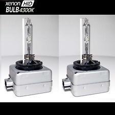 2x D1S D1R 4300K White HID Xenon Headlight Light Bulbs OEM Replacement AGT USA