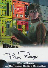 Space 1999 Autograph Trading Card PR1 Pam Rose As Command Centre Operative