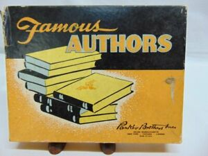 Vintage 1943 Parker Brother's Improved Game of Authors
