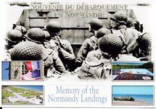WW2 - CP - Souvenir du Débarquement en Normandie