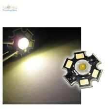 5 x Hochleistungs LED Chip 3W warm-weiß HIGHPOWER STAR