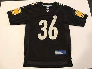Reebok On Field Pittsburgh Steelers Jerome Bettis Youth Jersey Large Mesh