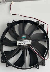 CoolerMaster 200 20cm Ultra-Quiet Chassis Fan - Black
