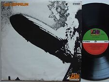 LED ZEPPELIN Debut SELF TITLED Atlantic AUSTRALIA Pressing OZ LP VG+ Jimmy Page