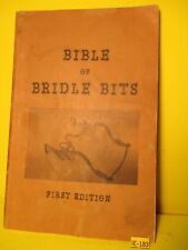 RARE Bible BRIDLE BITS First Ed Haug & Malm Horse Bit Photos & Value