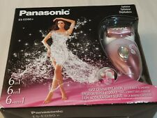 Panasonic Wet/Dry Epilator and Shaver with Six Attachments - Pink- ES-ED90-P