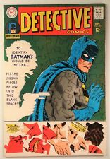 """Detective Comics #367 (DC 1967) VF 8.0 """"Where There's a Will -- There's a Slay!"""""""