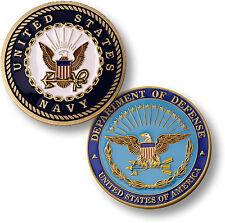 U.S. Navy / Department of Defense - USN / DOD Challenge Coin
