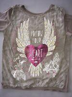 IKKS Tee-shirt ML «Follow Your Heart» 14 Ans