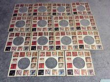 "EMI 7"" record sleeves x15  RARE 60's/70's  DIE-CUT *FREE POST  BEATLES BEACHBOYS"