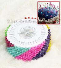 Lot de 480 épingles à tête chapeau rond couture perle mercerie head pin 36mm