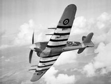 "Model Airplane Plans (UC): Hawker Typhoon 1/16 Scale 32"" for .23-.29 (Musciano)"