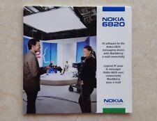 NOKIA 6820 CD-Rom PC Software Originale con Custodia Originale