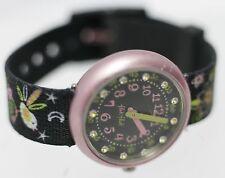 2009 - Swatch Flik Flak Aluminium ETA Swiss Fabric Womens/Childrens Wrist Watch
