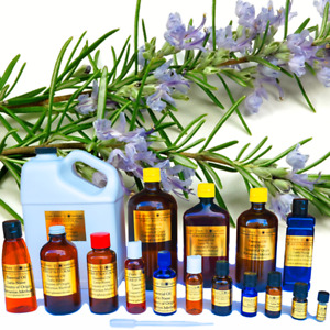 32 oz Rosemary Essential Oil - 100% PURE NATURAL - Dispenser Top - AROMATHERAPY