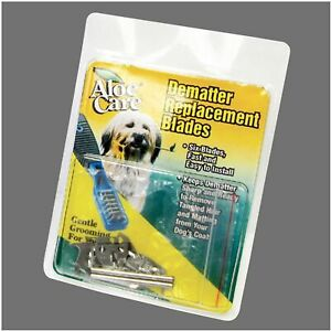Aloe Care Pro Dematter Replacement Blades Steel Blade De Mat tool replaces rake