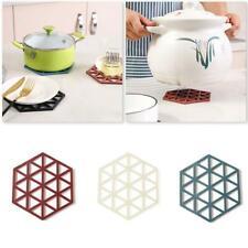 Kitchen Trivet Mat Hot Pot Stand Heat Resistant Insulation Non-Slip Kitchen Y5O6