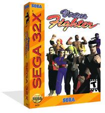 Virtua Fighter Sega 32x Replacement Spare Game Box Case + Cover Art Work No Game
