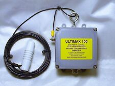 ULTIMAX 100 END FED ANTENNA 1.5 KW 3.0 TO 54 MHz