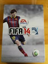 FIFA 14 (Sony PlayStation 3, 2013) Steel Case Collector Ea sports video game !!