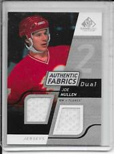 08-09 SP Game Used Joe Mullen Authentic Fabrics Dual Jersey