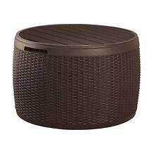 Auflagenbox Aufbewahrungsbox Gartentisch Terassenbox Sitzfunktion Tisch 140L