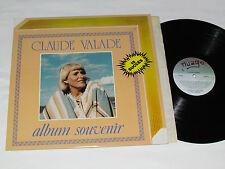 CLAUDE VALADE Album Souvenir - 15 Succes LP 1981 Nuage Records Canada Vinyl VG+