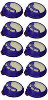 10 x HEPA Post Motor Filter For Dyson DC25 DC25i Vacuum Cleaner Hoover