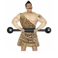 ** INFLATABLE BARBELL 120CM STRONG MAN FANCY DRESS PROP NEW **