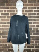NWT Bishop & Young Simone Sweater Black Women's Size Small S