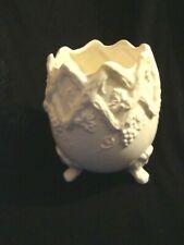 Inarco Cracked Egg Shaped Porcelain Vase Grape design - E-4729