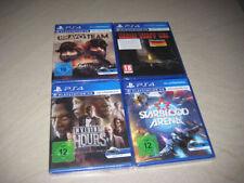 PS4 Starterpaket Sammlung PS4 VR Spiele Hours Here the Lie Bravo Team Starblood