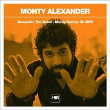 Monty Alexander – Alexander The Great - Monty Swings On MPS (4 CD) Box NEW