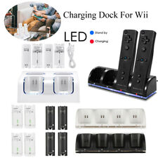 Rechargeable Battery Game Pack for Nintendo Wii Remote Controller Charger Dock
