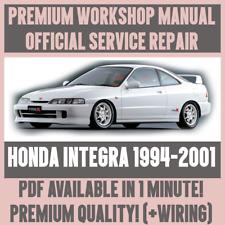 *WORKSHOP MANUAL SERVICE & REPAIR GUIDE for HONDA INTEGRA 1994-2001 +WIRING